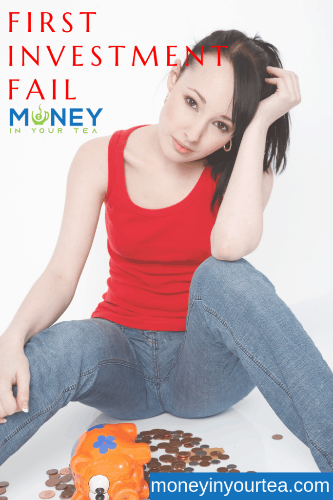 Tips for making your first investment - and what to do when it loses money. #savingmoney #money #personalfinance #blog #savings #genz #generationz #millennial #investment #fail #etf