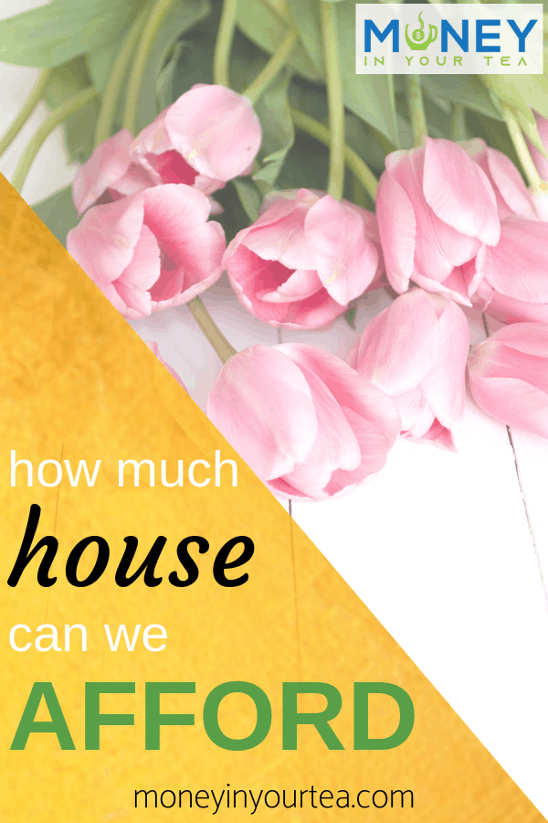 How much house can you afford? by moneyinyourtea.com