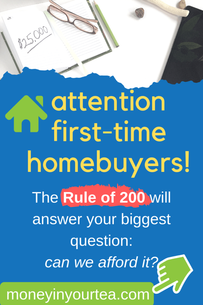 How can you buy a house you can afford? Read my Rule of 200 today! #savingmoney #money #personalfinance #blog #savings #genz #generationz #millennial #house #mortgage #condo #affordability