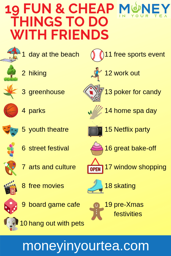Free Things To Do With Your Friends