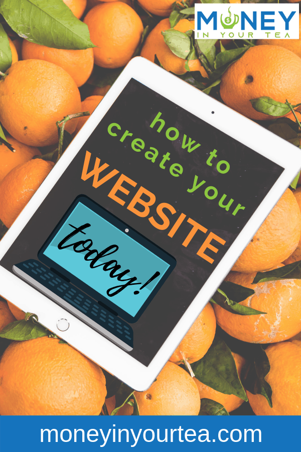 How to create your website today!