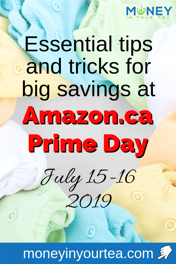 """Baby blankets with text overlay, """"essential tips and tricks for big savings at Amazon.ca Prime Day, July 15-16, 2019"""""""