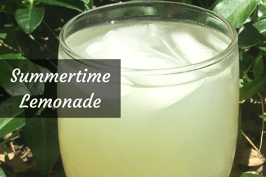 Summertime Lemonade recipe