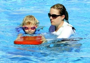 Lifeguarding or teaching swim lessons are a great way to make money