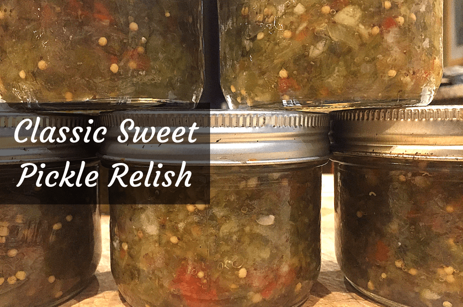 Recipe for Classic Sweet Pickle Relish