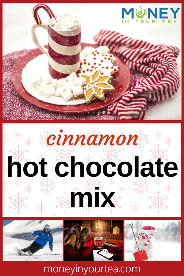 cinnamon hot chocolate mix recipe from moneyinyourtea.com