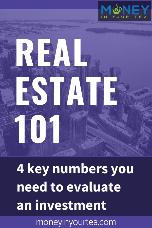 Real estate 101:  4 key numbers you need to evaluate an investment