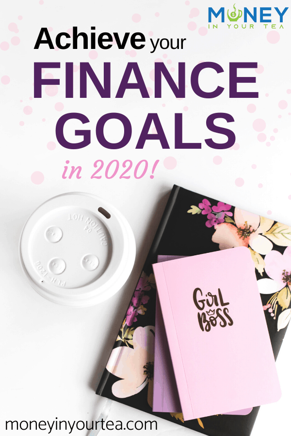 Achieve your personal finance goals in 2020 with printables from Etsy