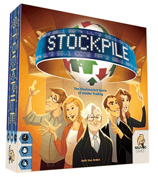 Stockpile, the stock market game of insider trading