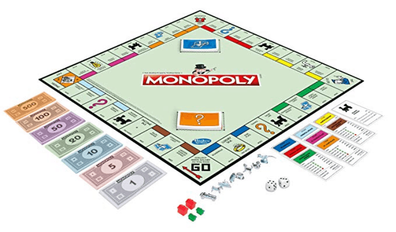 Monopoly, the classic game of money