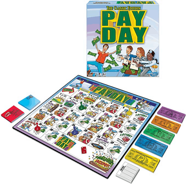 Payday, the classic budgeting game for families