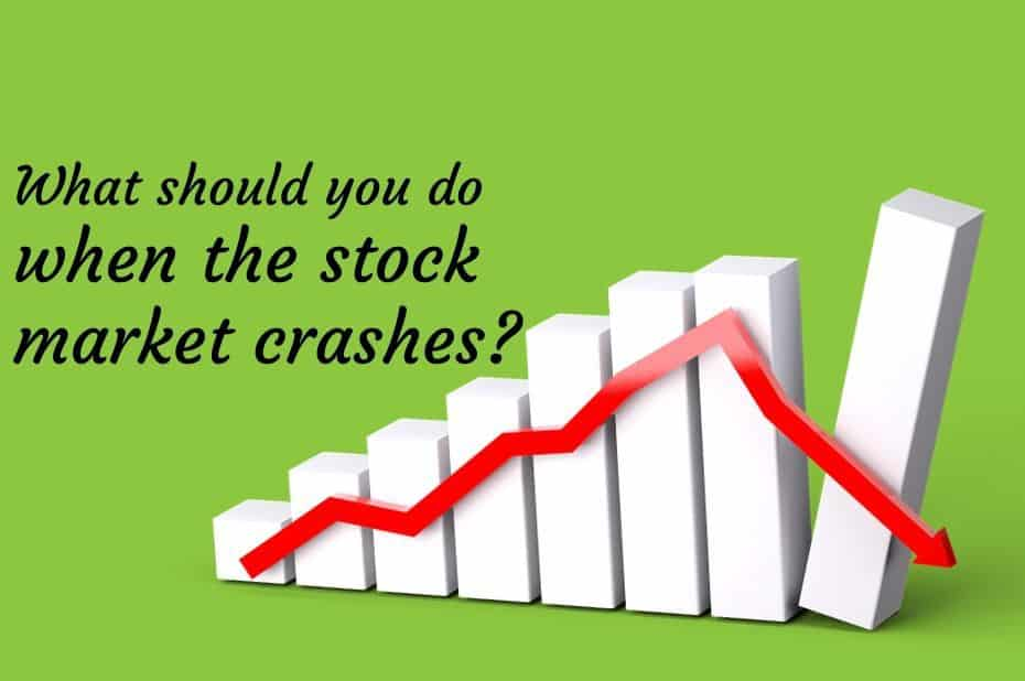 What should you do when the stock market crashes?