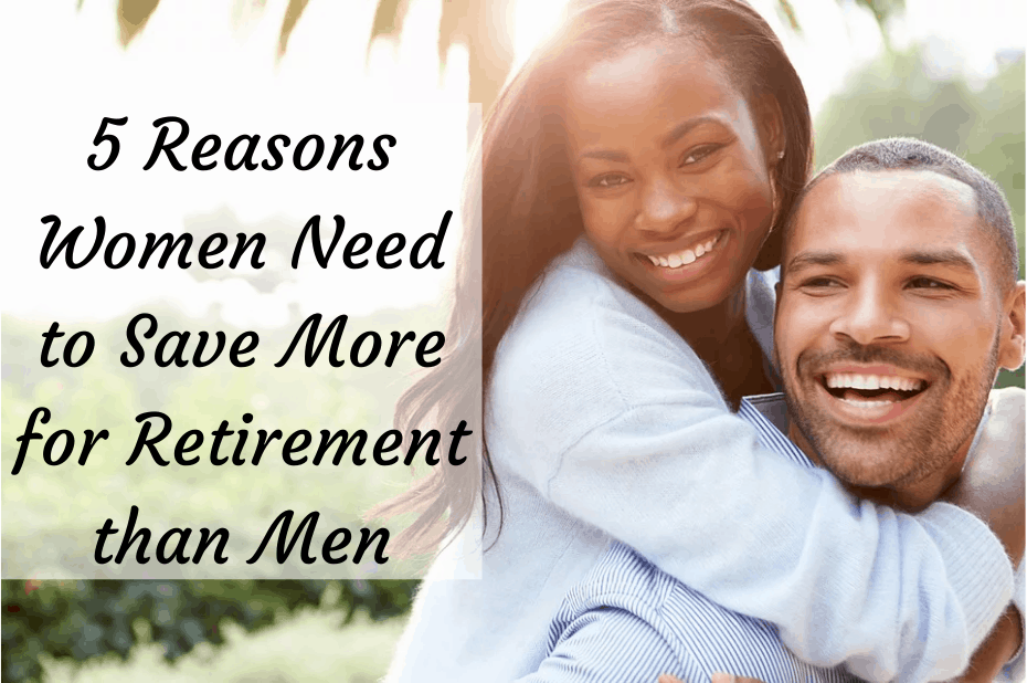 Women need to save more for retirement than men