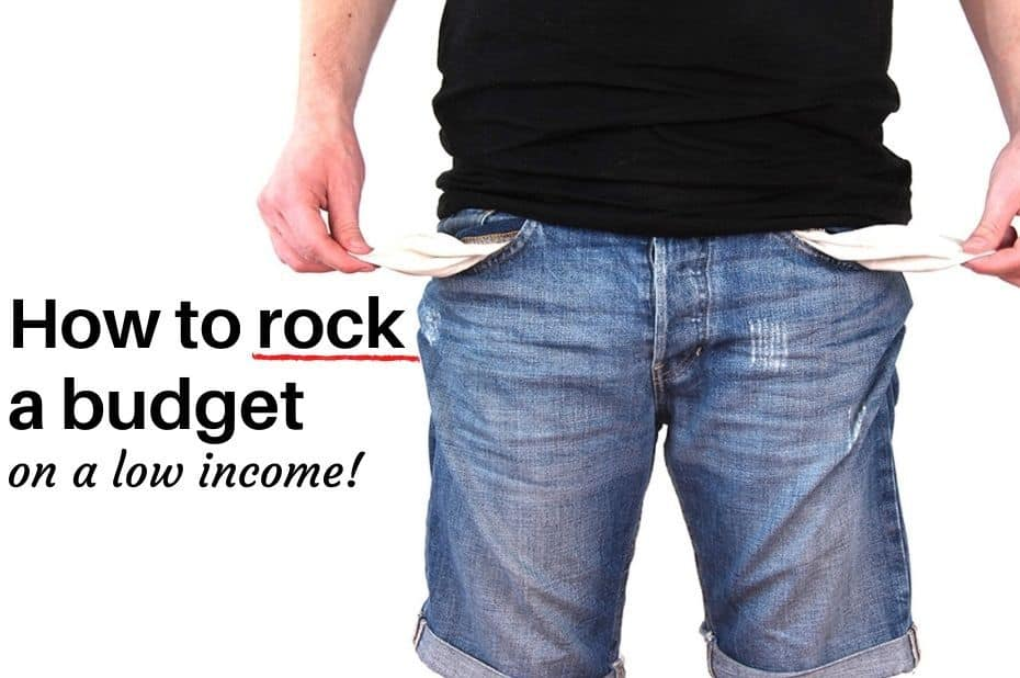 How to rock a budget on a low income!