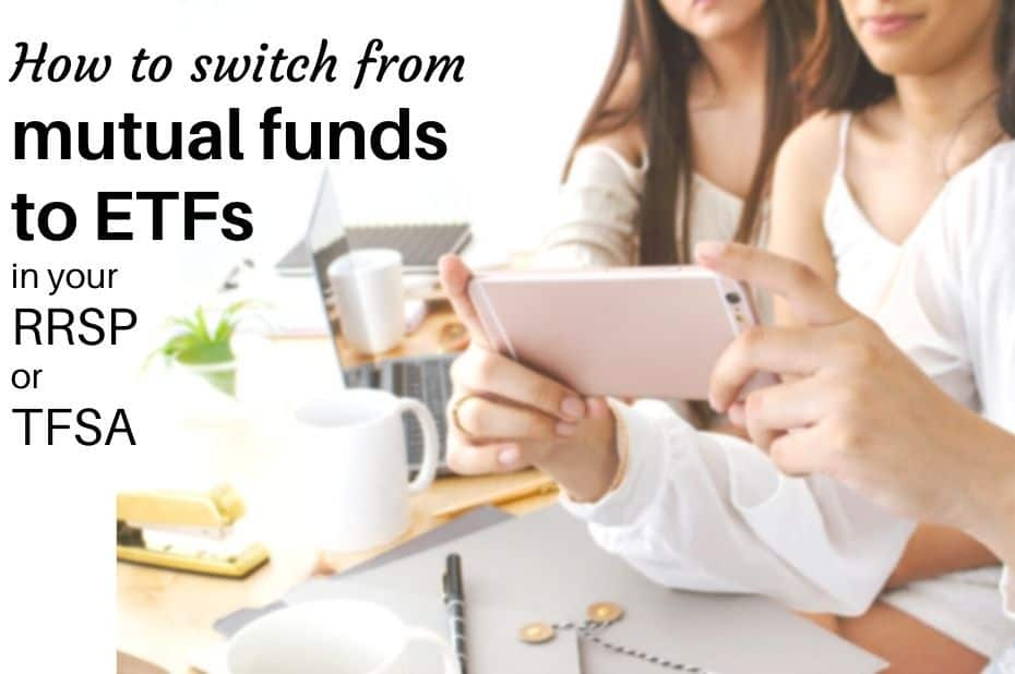 How to switch from mutual funds to ETFs in your RRSP